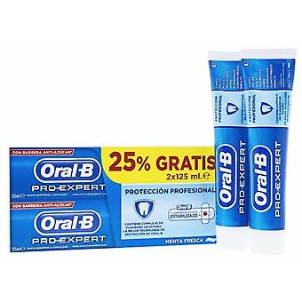Oral B Dentifrice Protection Professionnelle 2x125 ml