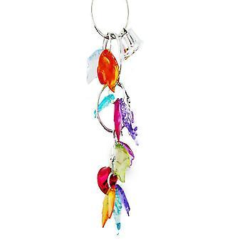 Jouet acrylique de perroquet d'oiseau de raisin de fruit