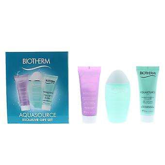Biotherm Aquasource Day Tripper Exclusive Gift Set For Her Women's NEW.
