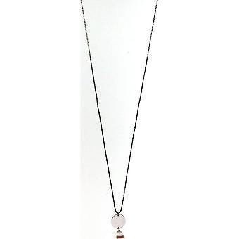 Collar adriana perla blanco agua dulce 9-10 mm cadena de anclaje rhodium de plata 50 cm R140