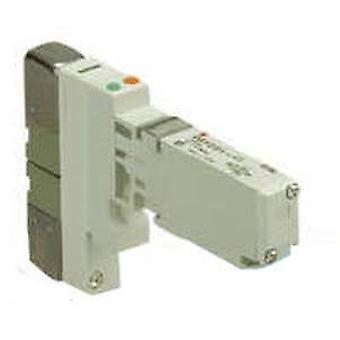 SMC 2000-serien, 5 Port magnetventil, plugin, Base montert, ny stil