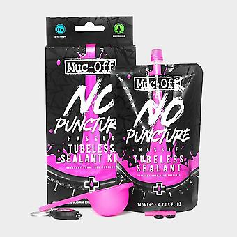 New Muc Off No Puncture Hassle Tubeless Sealant (140ml Kit) Natural