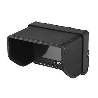 """Andoer AD-702 7"""" Ultratynd HD 1280×800 IPS-skærmskærm til skærmskærm til kameraskærm"""