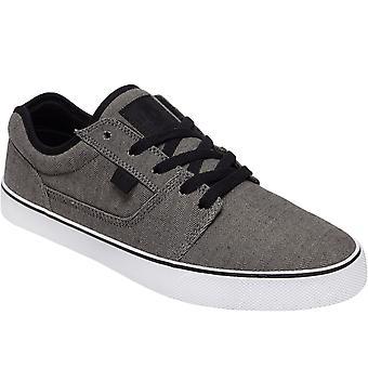 DC Shoes Mens Tonik TX SE Zapatillas de skater textil zapatillas deportivas - Negro / Armadura