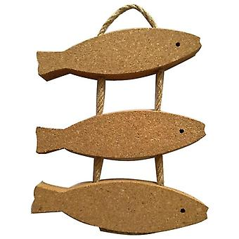 Fish Sharp Cork Wood