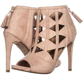 Xoxo Women's Shoes Charisma Fabric Peep Toe Special Occasion Strappy Sandals