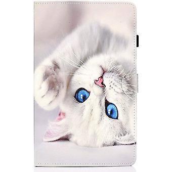 FengChun Samsung Galaxy Tab A 10.1 Zoll(2019) SM-T510 / SM-T515 PU Schutz Hülle Auto Schlaf/Wachen