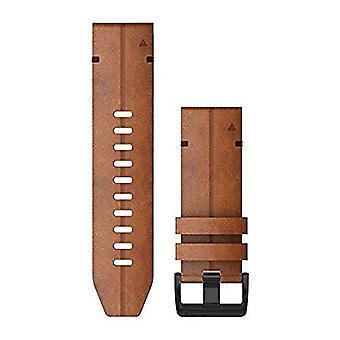Garmin QuickFit 26 Watch Straps - Chestnut Leather