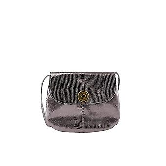 PIECES Female Umhangetasche Leder One SIZEBronze, Women's Folder Bag, Mixed Bronze/AOP: Metallic, One Size