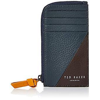 Ted Baker Mars, Akcesoria podróżne do portfela męskiego, Granat, Jeden rozmiar