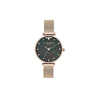 Olivia Burton Quartz Watch with Stainless Steel Strap OB16AM145