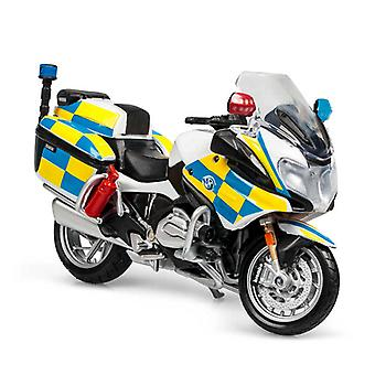1:18 Polis BMW Motorcykel Diecast Modell