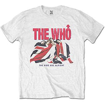 Who - The - Kids Are Alright Vintage Unisex Medium T-Shirt - White