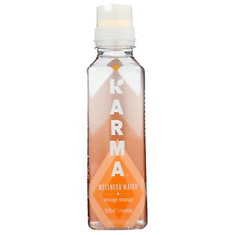 Karma Wellness Wasser Bev Mind Orange Mango, Fall von 12 X 18 Oz
