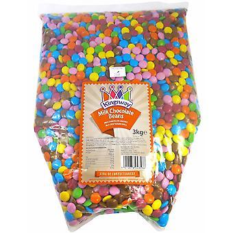キングスウェイピック&ミックス菓子ミルクチョコレートビーンズ1キロ