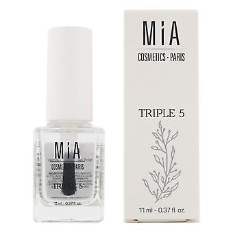Behandling av naglar Trippel 5 Mia Kosmetika Paris (11 ml)