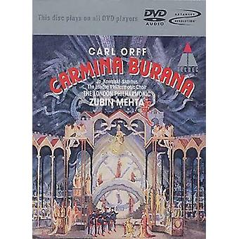 Carmina Burana (Mehta) [DVD AUDIO] DVD Region 2