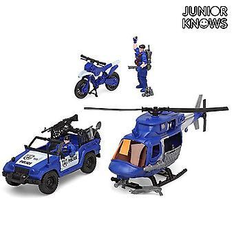 Pelastusryhmä asettaa Junior Knows 6101 (4 kpl)