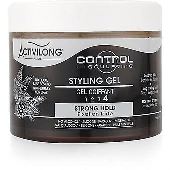 Activilong Control Sculpting Strengthening Gel Force 4 Fixation Strong Castor And Wheat Protein 300 Ml