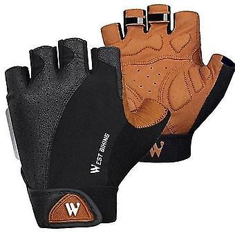 Bicycle bike gloves west biking half finger cycling gloves