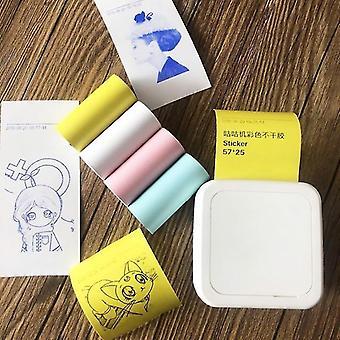 Receipt adding machine paper rolls self adhesive thermal sticker printing paper