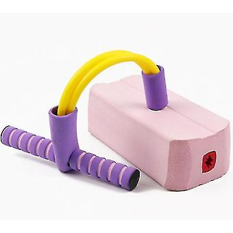 Schaumstoff Pogo Pullover für Kinder Spaß und sichere Springstock Pogo Stick (Pink)