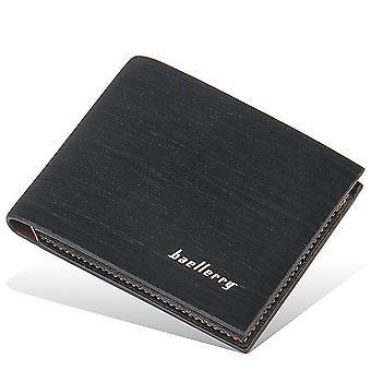 Pánske peňaženky otvoriť krátke mince kabelka viackartové vreckové peňaženku