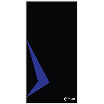 Rockycay serviette de gym antibactérienne - power noir et bleu