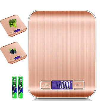 Digital Kitchen Scale - 5kg Electronic Scale for the Kitchen with Tara Function