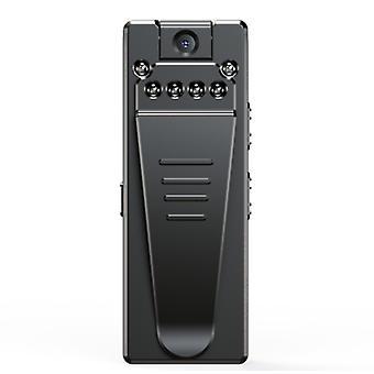 مسجل فيديو صغير 1080P صغيرة ميني كاميرا فيديو لاسلكية (أسود)