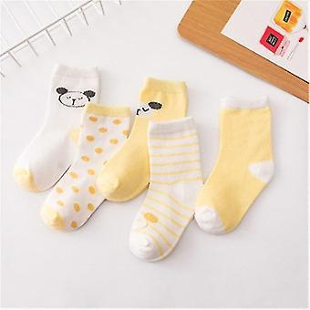 Cotton Printing Mustache & Spring / Autumn Infant Socks