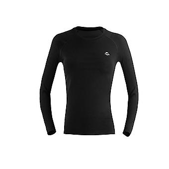 Men-women Winter Quick Dry Anti-microbial Stretch Thermal Long Polyester Thick