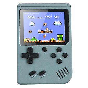 (Grigio) Console retrò portatile Gameboy 500 Giochi classici Regalo per bambini