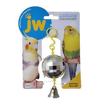JW Insight Disco Ball Bird Toy - Disco Ball Bird Toy