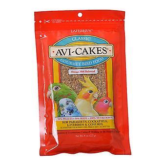 Lafeber Classic Avi-Cakes Gourmet Parakeet, Cockatiel & Conure Food - 8 oz