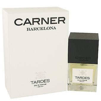 Tardes eau de parfum spray by carner barcelona 534925 100 ml