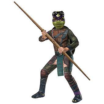 Traje de meninos Donatello Teenage Mutant Ninja Turtle super-heróis