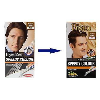 Bigen Men's Speedy Colour Medium Brown #105