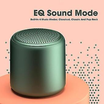 Speakers green bluetooth portable outdoor speaker wireless mini stereo music surround low waterproof