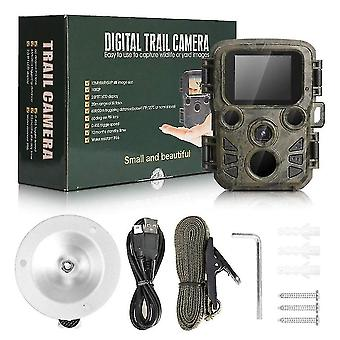 Trail cameras mini hunting camera waterproof 16mp 1080p wildlife scout camera with night vision hunting game