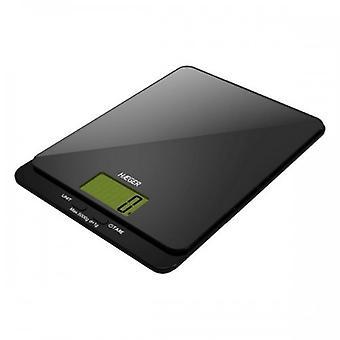 Digital Kitchen Scale Haeger Dark Glass 5 Kg 38389 38389 38389