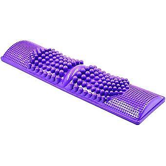 Fußmassagegerät Robuste Kunststoff Tragbare Heimreflexzonenmassage Zehenakupressurmatte für Erwachsene Frauen Männer Massage Fußakupunktur Punkt