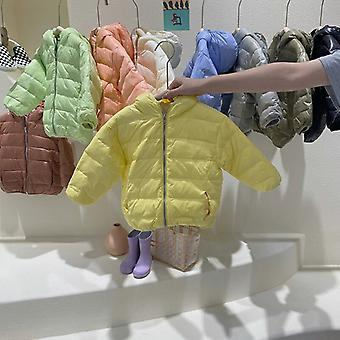 New Children's Lightweight Down Jacket Korean Men And Women Baby Cold-proof Jacket Down Jacket