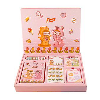 Boutique Diary Partner School supplies briefpapier set creatief meisje geschenkdoos
