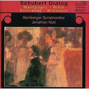 Schubert/Rihm/Mantovani - Schubert Dialog [CD] USA import