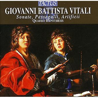 Quadro Hypothesis - Giovanni Battista Vitali: Sonate, Passagalli, Artificii [CD] USA import