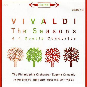 Anshel Brusilow - Vivaldi: The Seasons; 4 Double Concertos [CD] USA import