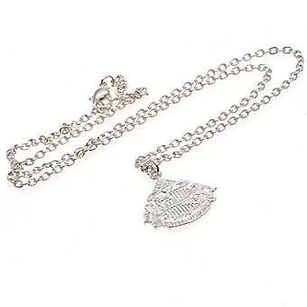 Sunderland Silver Plated Pendant & Chain