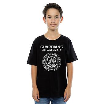 Marvel Boys Guardians Of The Galaxy Logo Seal T-Shirt