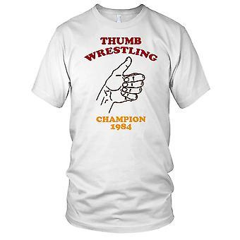 Duim worstelen kampioen 1984 Kids T Shirt